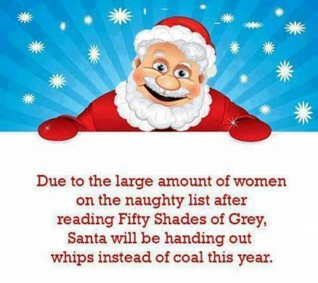 Naughty List Fifty Shades Of Grey Fifty Shades Shades Of Grey