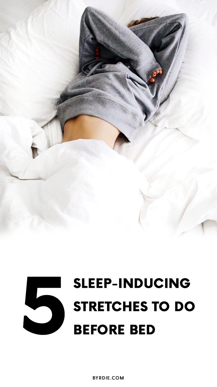 This Bizarre Stretch Will Help You Fall Asleep