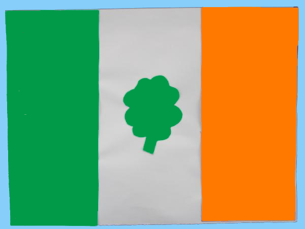 Irish Flag Craft I Can See Us Doing This March In Colleen Sweeney O Munneke Preschool Art Projects Preschool Art Preschool Arts And Crafts