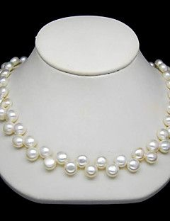 Elegant 8-9MM Pearl Necklace – 16 Inch. Get unbelievable discounts up to 70% Off at Light in the Box using Coupons.