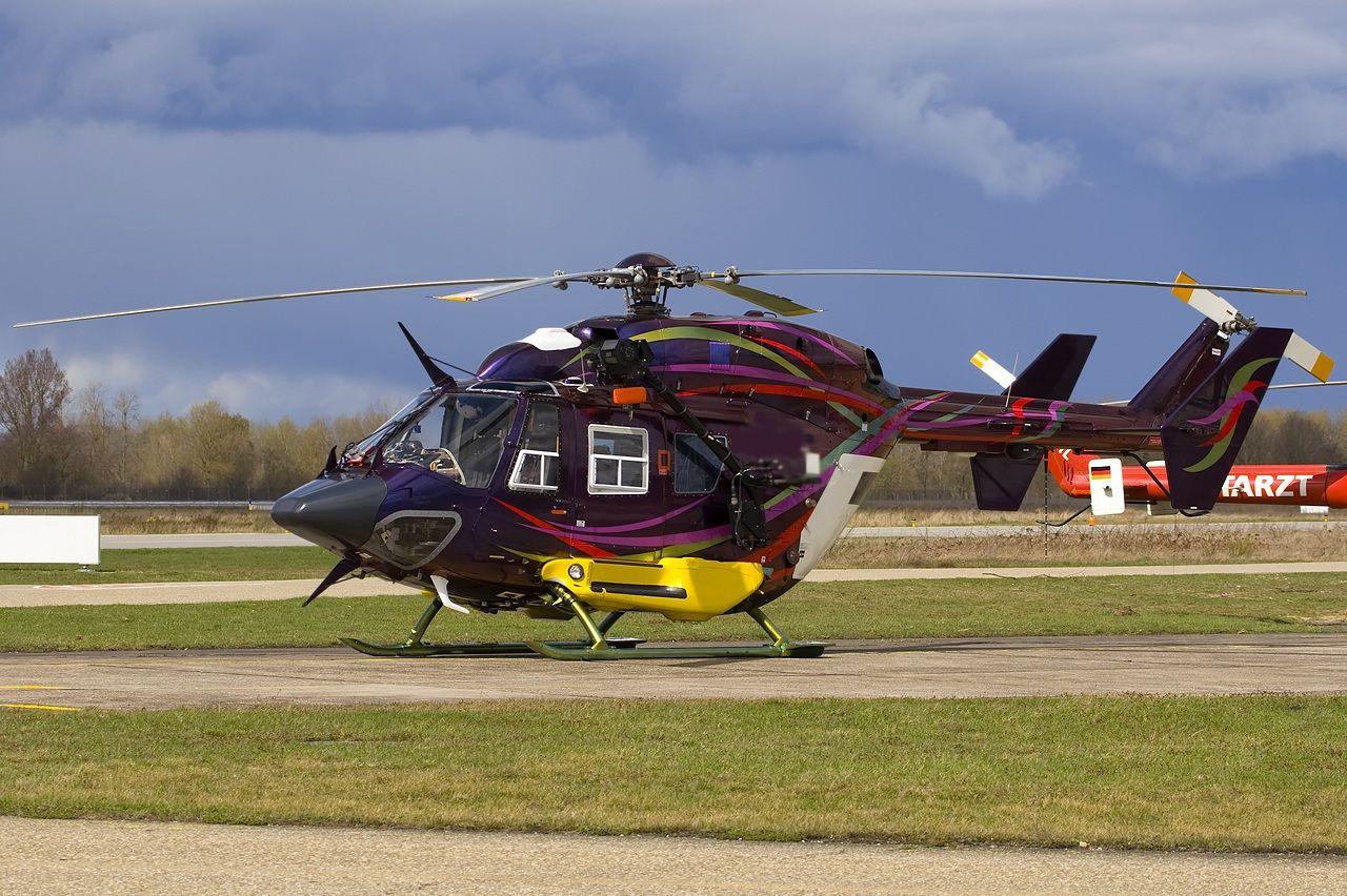 2002 Eurocopter BK117 C1 Location Ukraine => http