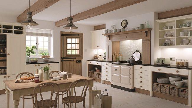 british kitchens, mereway, lincoln natural oak design ...