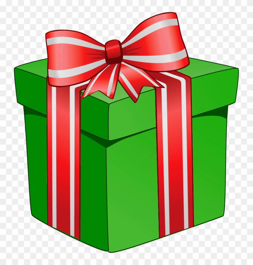 Christmas Present Clipart Green Gifts Christmas Clipart Gifts