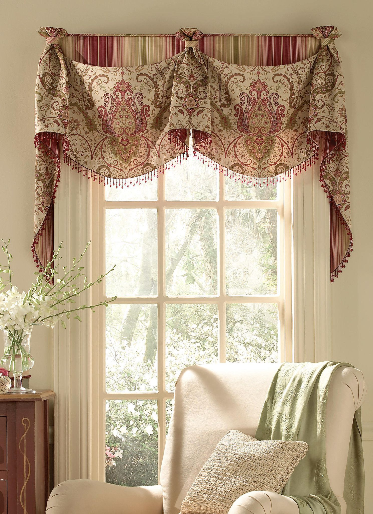 Pay.housebeautiful.com 253 Empire Over Straight Valance You Pay 12 Down  Valance Easy