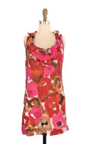 Ann Taylor Loft Pink Floral Dress Size XSP | ClosetDash #fashion #style #dresses