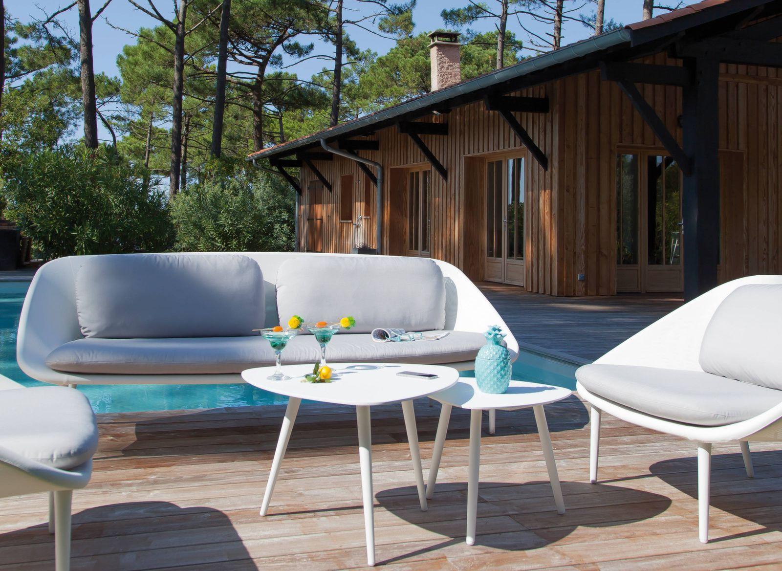 Canape 3 Places Phenix Mobilier De Jardin Design Mobilier