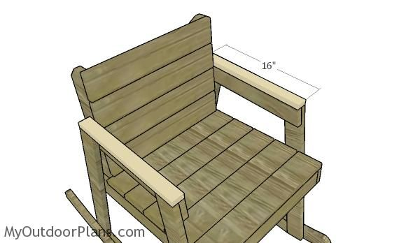 Awesome Rocking Chair Plans Myoutdoorplans Free Woodworking Pdpeps Interior Chair Design Pdpepsorg