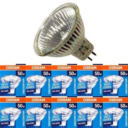 10 Stuck Osram Decostar 51s Standard Gu5 3 12v 50w 24 Led Beleuchtung Lampen Lumiere Froide Lumiere Lampe