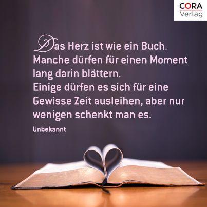 Das Herz Ist Wie Ein Buch Sprüche Sprüche Sprüche