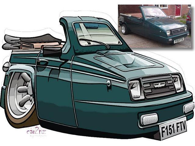 Reliant Rialto convertible | Flickr - Photo Sharing!