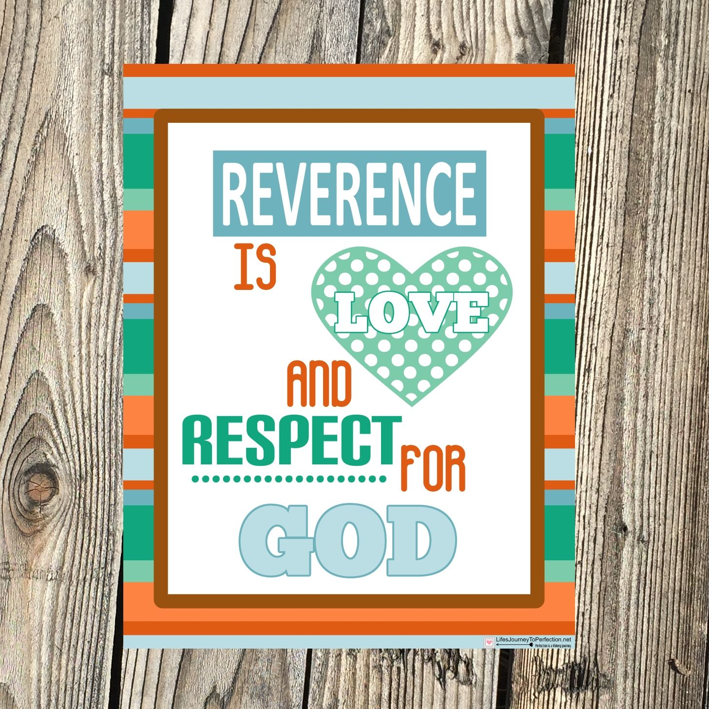 Lds Sharing Time Ideas For November Week 1 Reverence