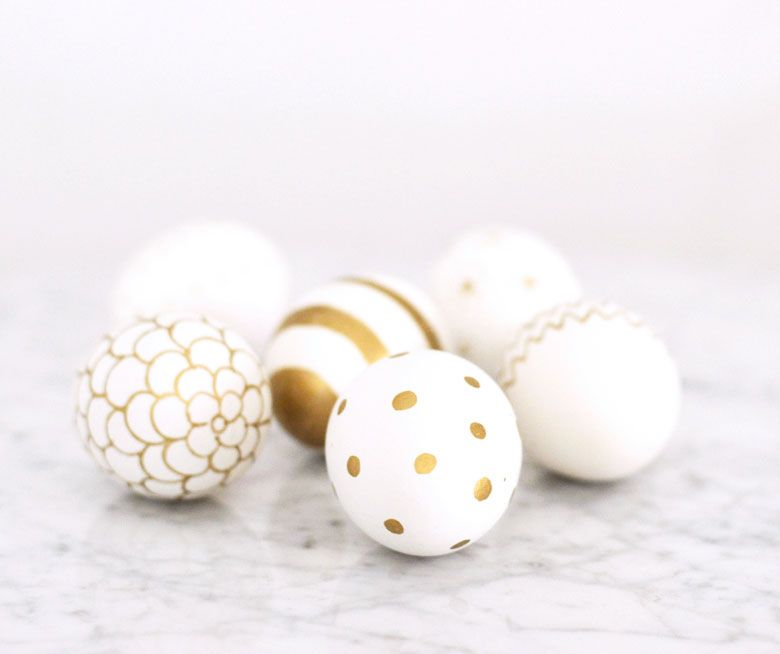 Chic Easter Egg DIY - Shakespeare and Sparkle