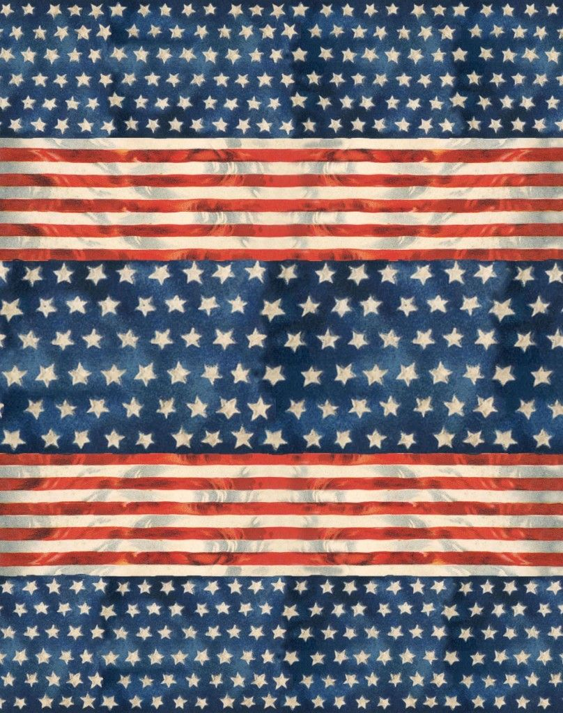 Stars & Stripes ~ free graphic.