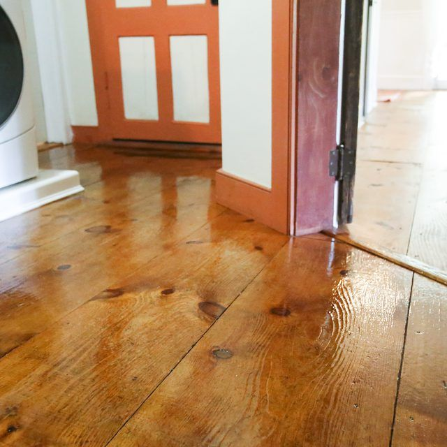How To Refinish Old Wood Floors Without Sanding Woods Farm House