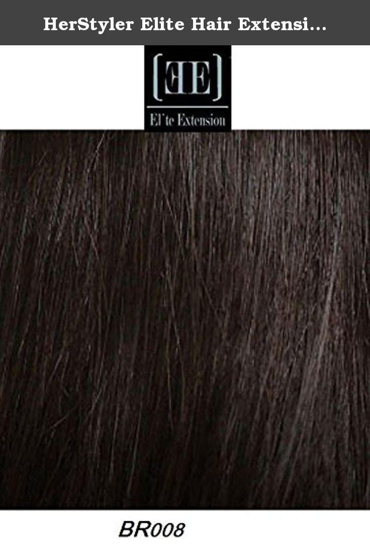 Herstyler Elite Hair Extension Instant Clip 100 Human Hair 18 Long