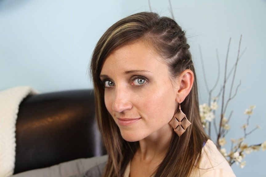 Cute Girl Hairstyles For School
