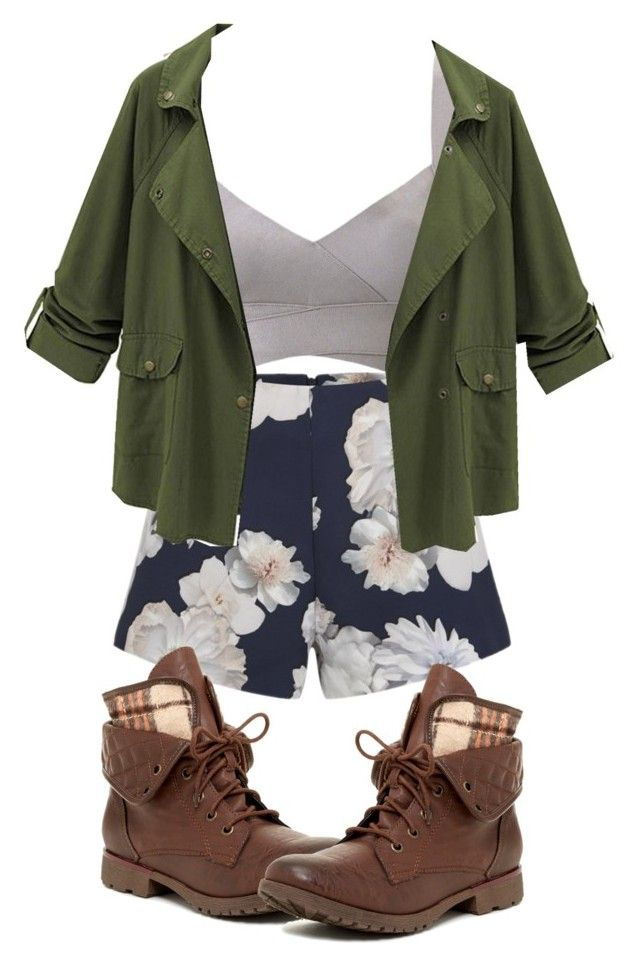 """""""Hiking Cas"""" by glitzglamgymnast on Polyvore featuring Finders Keepers and Rock & Candy"""