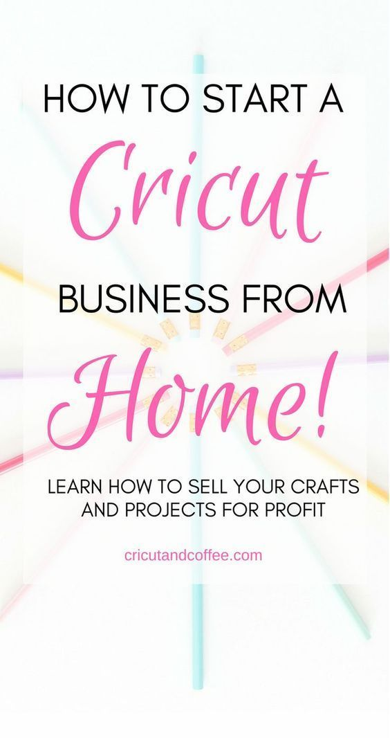In this FREE e-mail course, you will learn the everything you need to know to start a Cricut business from home selling your crafts and projects. #cricutforbeginners #cricutcrafts #cricutideas #cricut #craftstosell