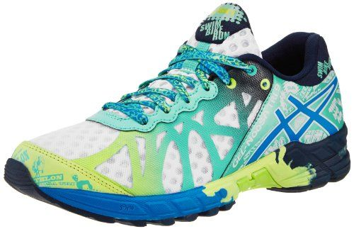 ... asics womens gel noosa tri 9 running shoewhite electric blue mint