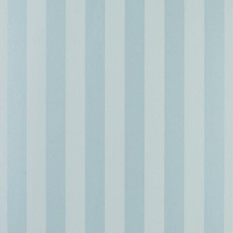 Lille Stripe Duck Egg Wallpaper #lauraashleyhome