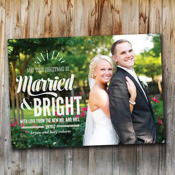 17 Best ideas about Newlywed Christmas Card on Pinterest ...