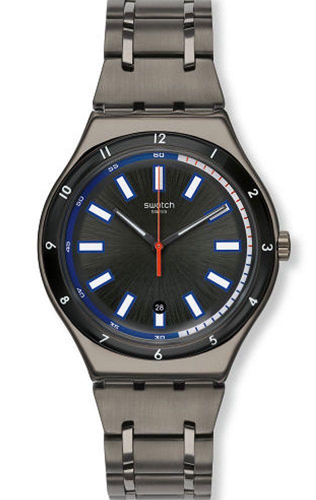 6b82a06a32ce Reloj Swatch hombre Smokeygator YWM400G en 2019