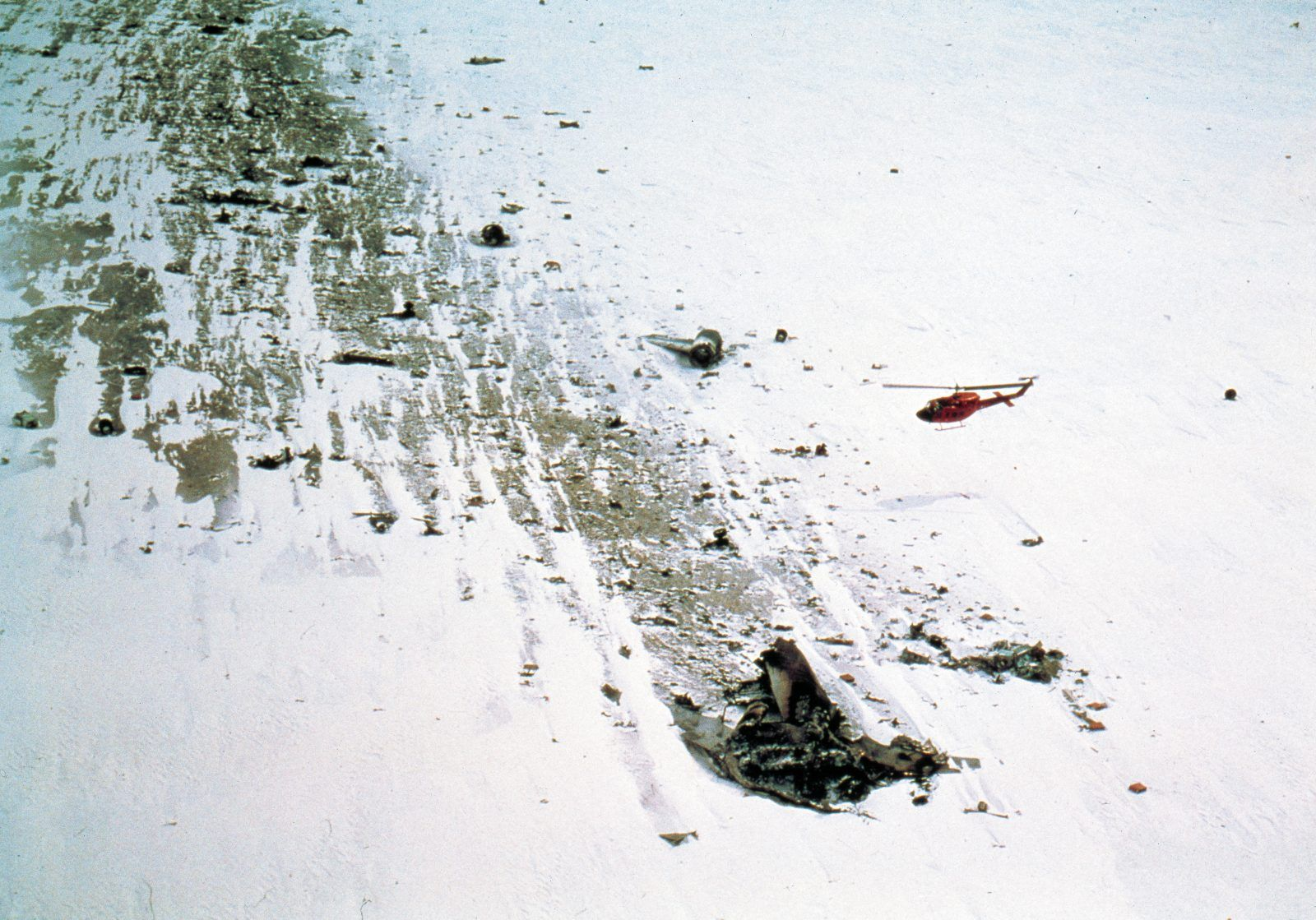 The Disaster of Flight 901 and its Frozen Crash Site in