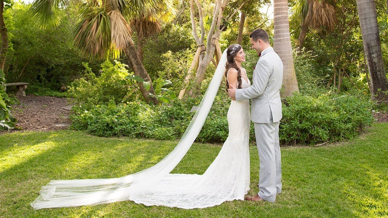 Miami Beach Botanical Garden Wedding Video Niki & Javi