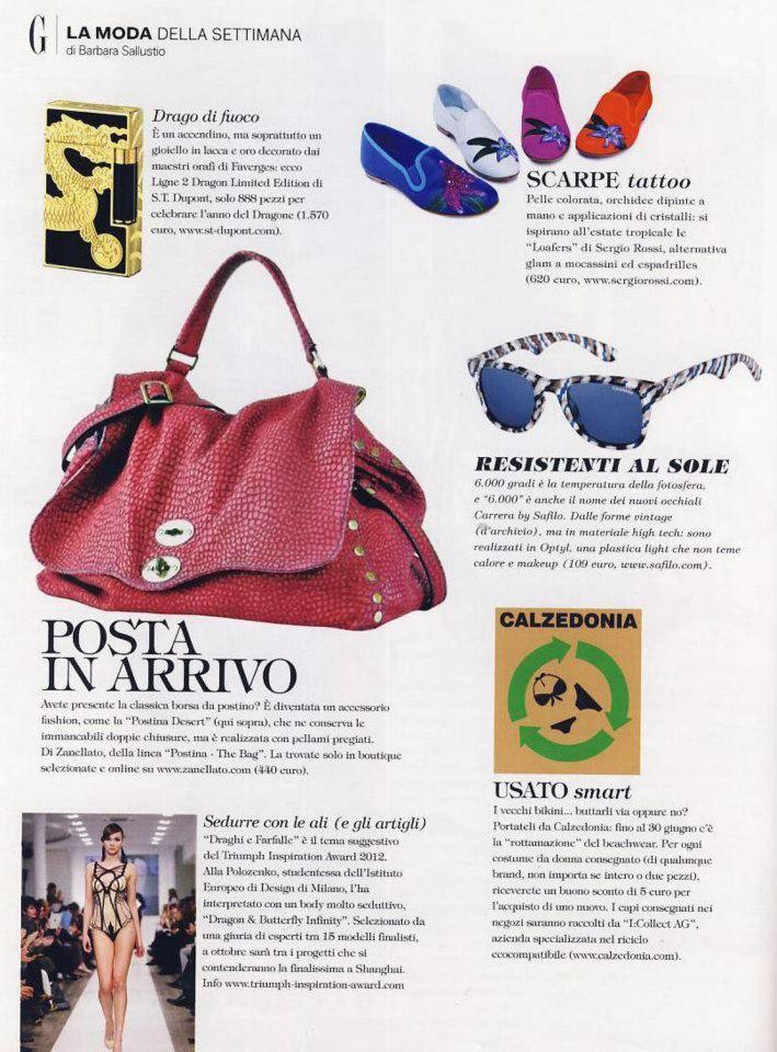 Zanellato On Grazia Zanellato Press Editorials