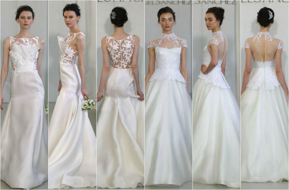 tendencias 2014: vestidos de novia con la espalda al descubierto