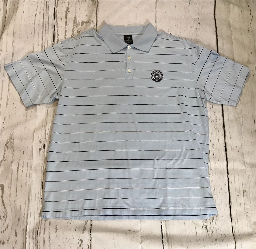 15de35d48 Mens Nike Golf Polo Shirt Horizontal Stripes Walt Disney World 1971 Grey # fashion #clothing #shoes #accessories #mensclothing #shirts (ebay link)