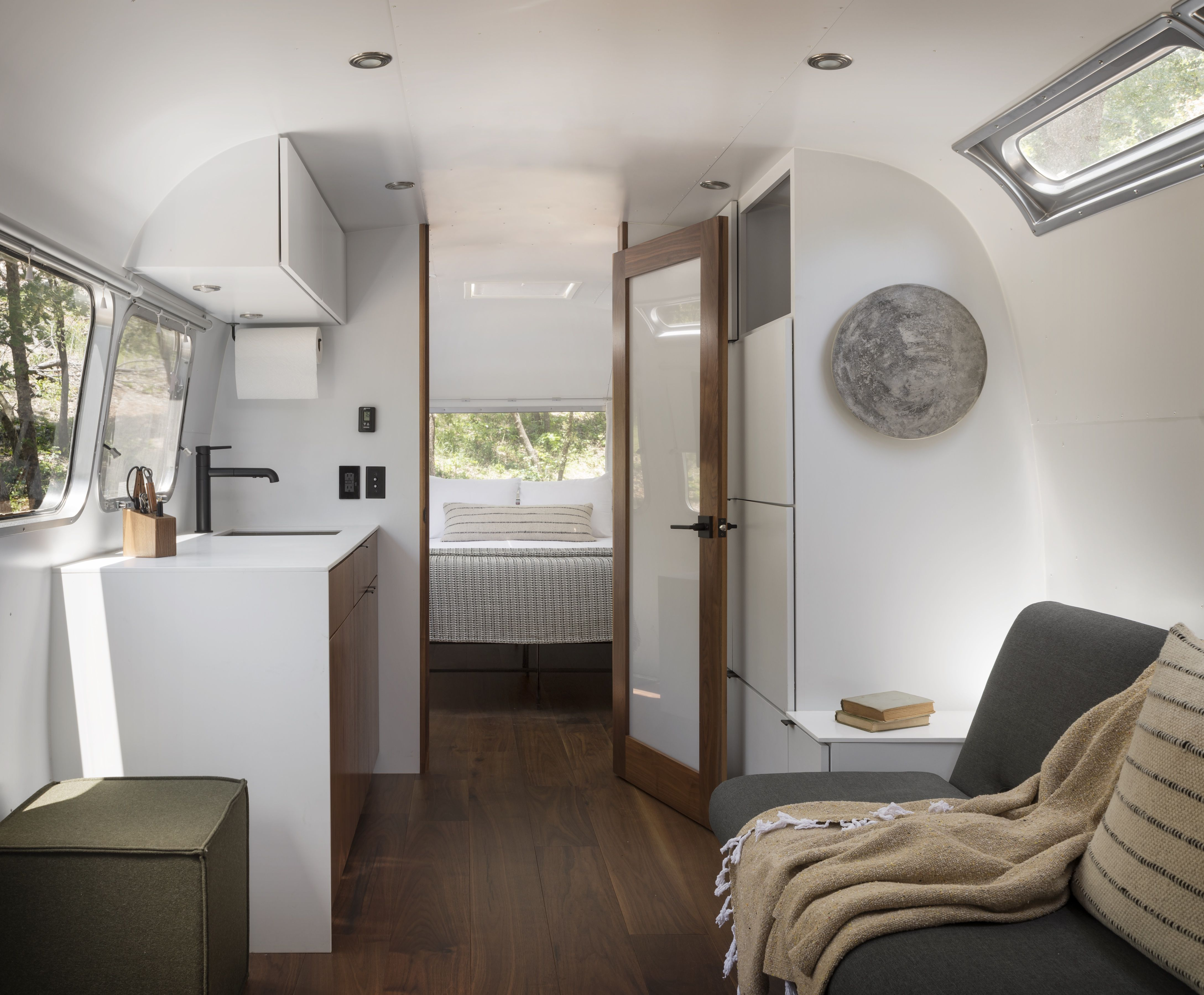 Yosemite Glamping In Airstreams And Canvas Tents Glamping Site Upscale Decor Lounge Areas