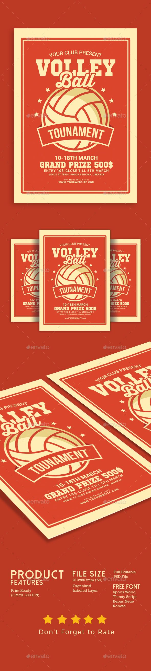 Volleyball Tournament Flyer Volleyball Tournaments Volleyball Posters Volleyball