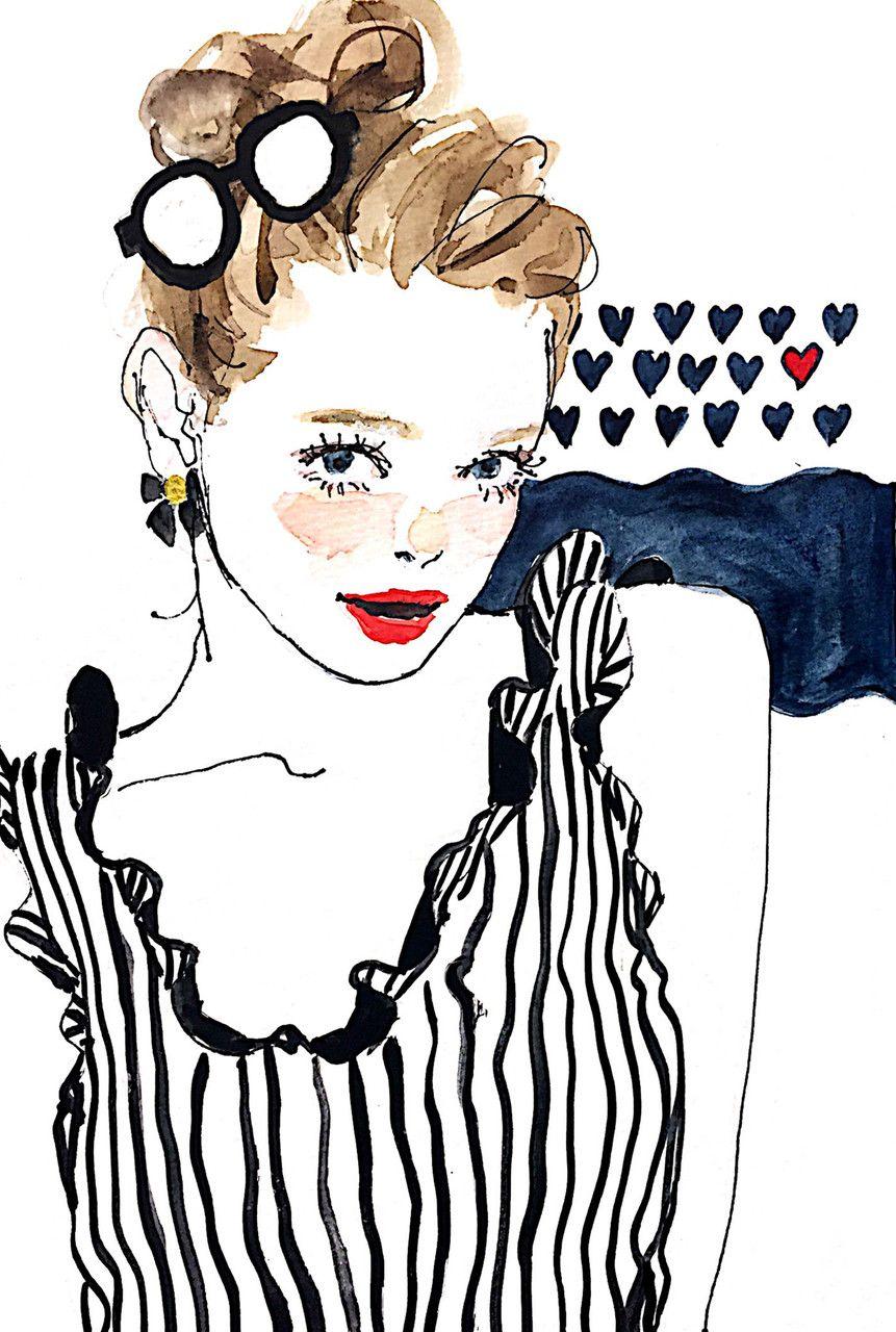 gallery | fashion & style | pinterest | かわいいイラスト、待ち受け