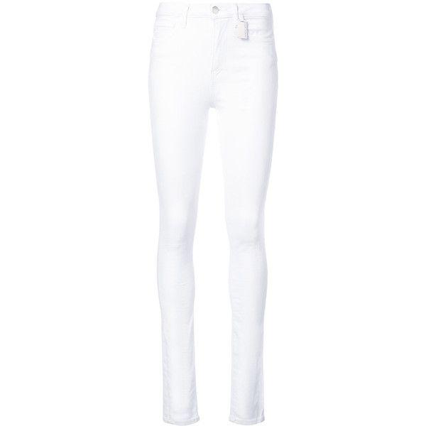 Lavender high-waisted jeans - White Thomas Wylde qvwjfU6JR