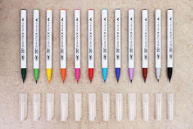 guide to choosing a brush pen from jetpens stuff i want rh in pinterest com Good Felt Tip Pens Colored Felt Tip Pens