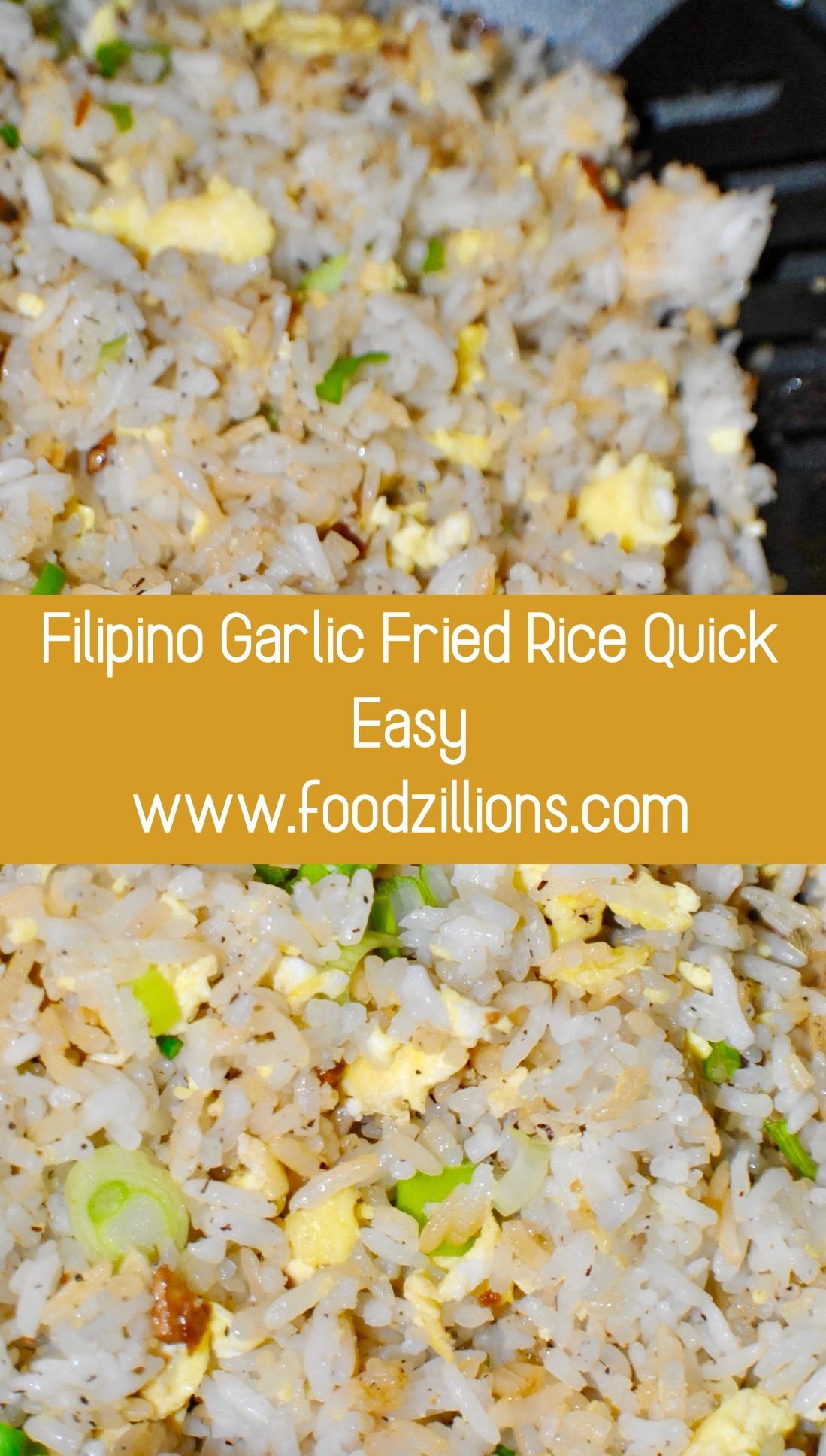Photo of Filipino Garlic Fried Rice Quick Easy