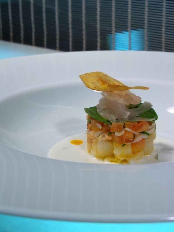 Food Photos: Cod and Tomato Tartare - Carlos Ferrer