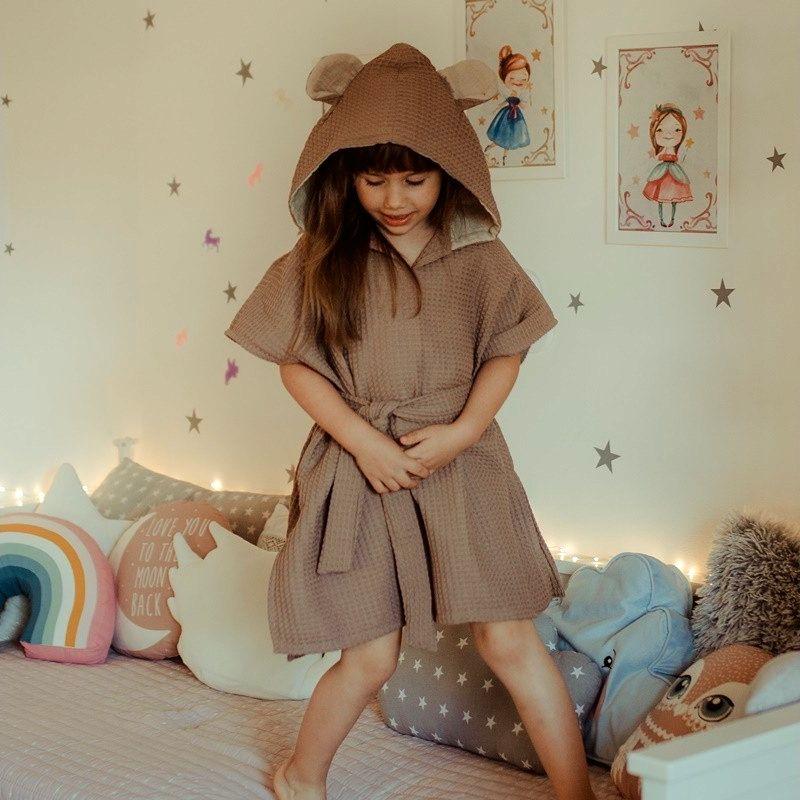 165ecf82c83816 Szlafrok dziecięcy miś | children | Dresses with sleeves, Dresses i ...