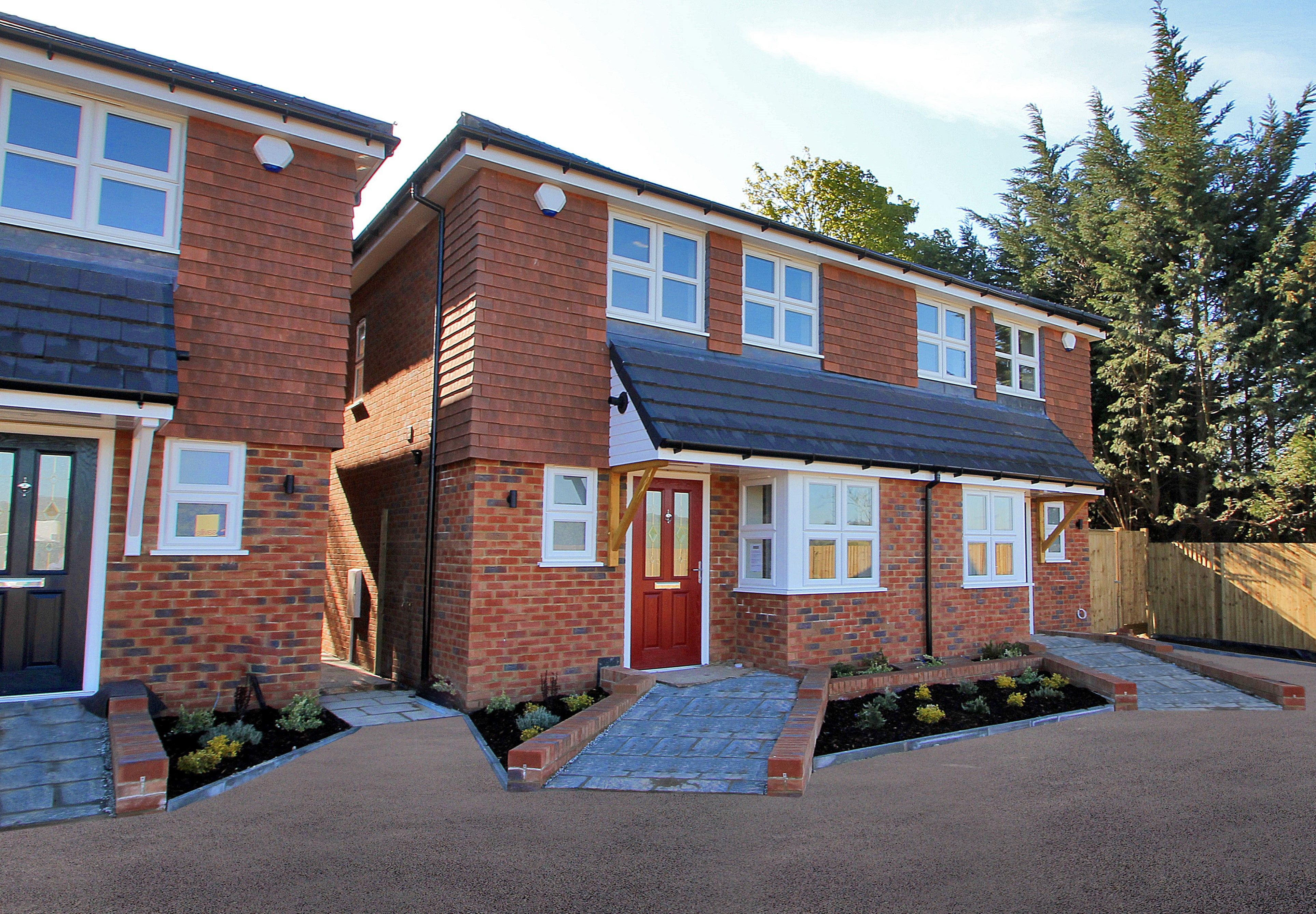 Exterior view of our development in Farningham, Kent