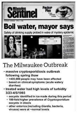 giardia outbreak milwaukee