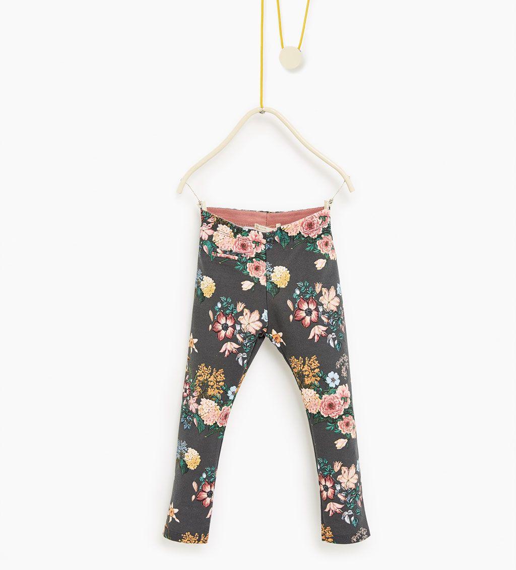 Pantalón piqué estampado-LEGGINS Y PANTALONES-NIÑA  54852185739