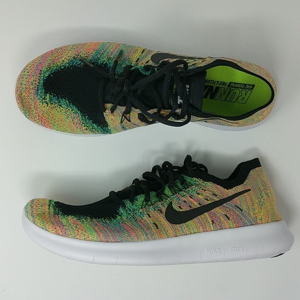eda06fc0f64 Nike Free RN Flyknit 2017 Run Blue Lagoon Men Running Shoes Trainers 8 –  LoneSole