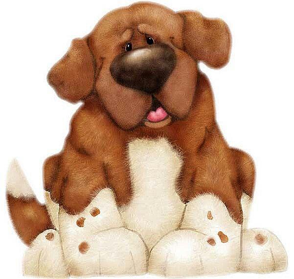 Pin De Bonnie Hoffmann En Clipart Dibujos De Perros Perros Tiernos Animados Dibujo De Perro