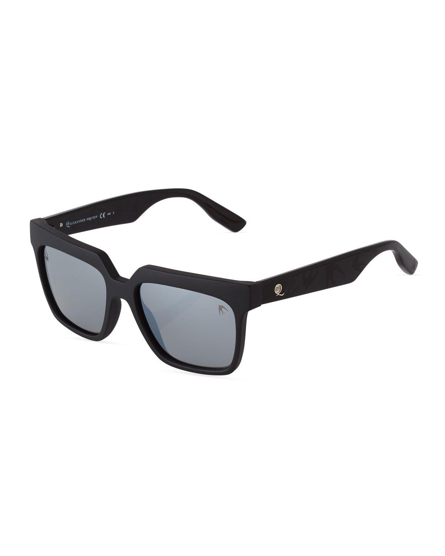 614f1fd1df4c McQ Alexander McQueen Square Acetate Sunglasses