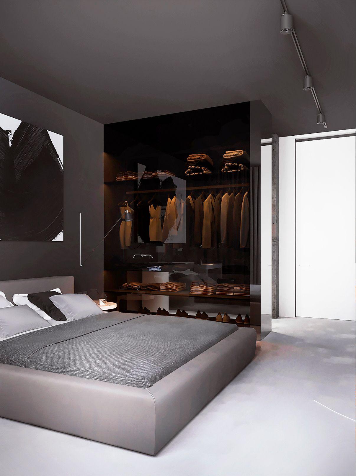 Pin de ailin herrero en nyc decoracion recamara dise os for Dormitorios femeninos modernos