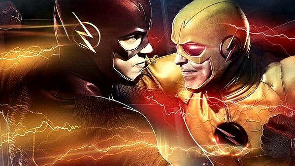The Flash Vs Reverse Flash Wallpaper The Flash Pinterest