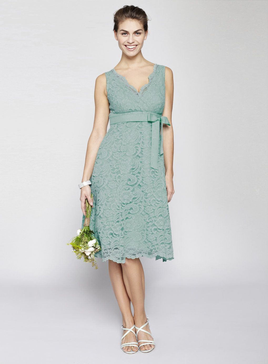 Dark Mint Bella Lace Short Bridesmaid Dress | Bridesmaid dresses ...