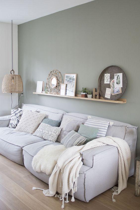 Woonkamer - Slaapkamer - Wanddecoratie | interieurs | Pinterest ...