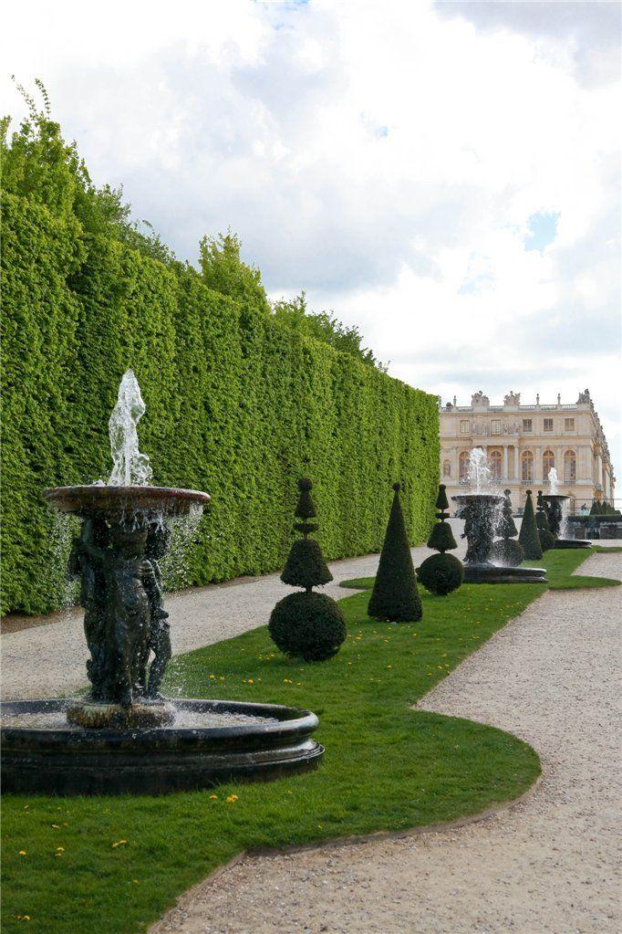 a grand promenade ( a versailles) | In the Garden-Behind the